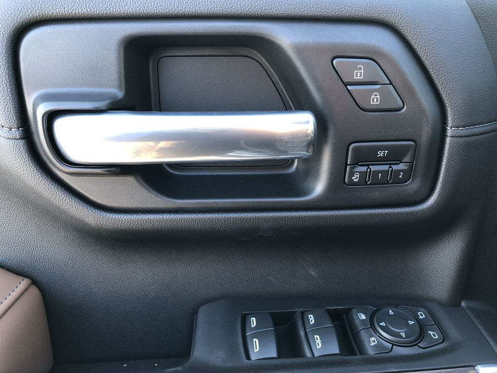 Black[Black] 2021 Chevrolet Silverado 1500  Driver's Side Door Controls Photo in Edmonton AB