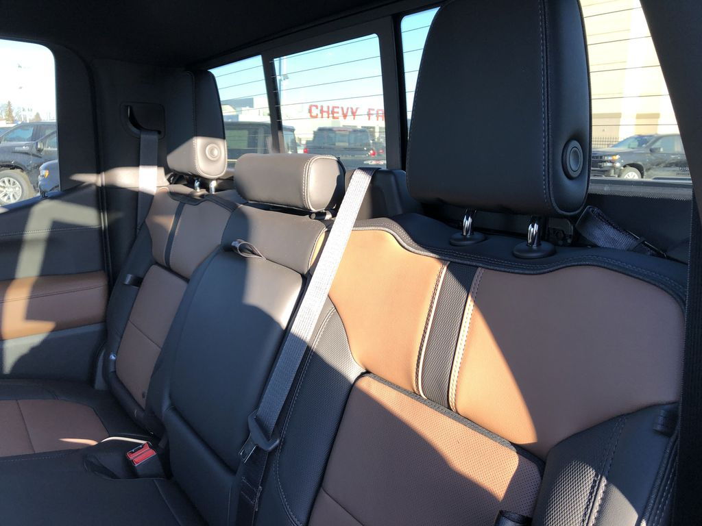 Black[Black] 2021 Chevrolet Silverado 1500 Left Side Rear Seat  Photo in Edmonton AB