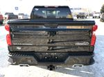 Black[Black] 2021 Chevrolet Silverado 1500 Rear of Vehicle Photo in Edmonton AB