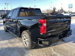 Black[Black] 2021 Chevrolet Silverado 1500 Left Rear Corner Photo in Edmonton AB