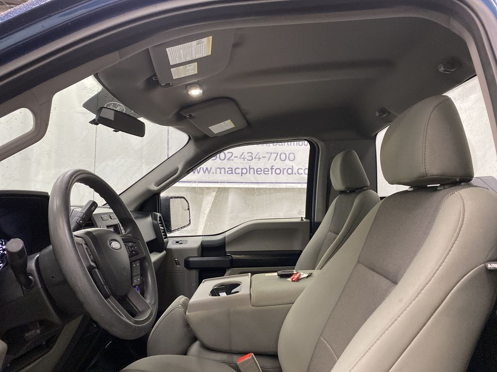 Blue[Blue Jeans Metallic] 2018 Ford F-150 Left Front Interior Photo in Dartmouth NS