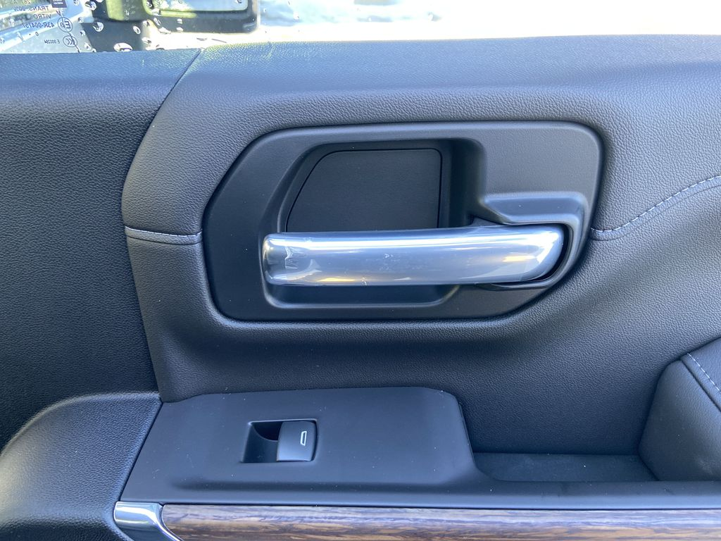 White[Iridescent Pearl Tricoat] 2021 Chevrolet Silverado 3500HD High Country Passenger Rear Door Controls Photo in Calgary AB