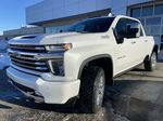 White[Iridescent Pearl Tricoat] 2021 Chevrolet Silverado 3500HD High Country Left Front Head Light / Bumper and Grill in Calgary AB