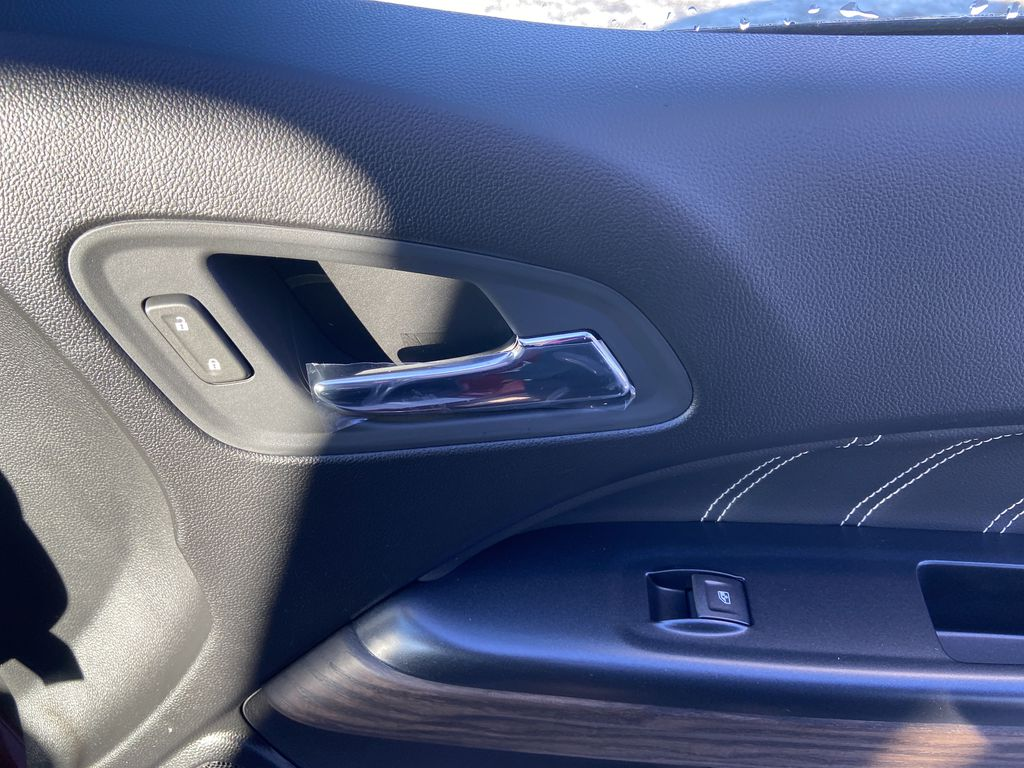 Red[Cayenne Red Tintcoat] 2021 GMC Canyon Denali Passenger Front Door Controls Photo in Calgary AB