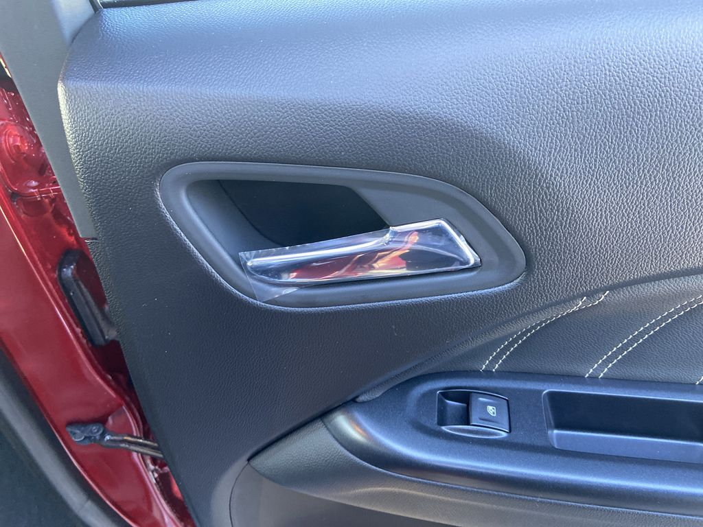 Red[Cayenne Red Tintcoat] 2021 GMC Canyon Denali Passenger Rear Door Controls Photo in Calgary AB