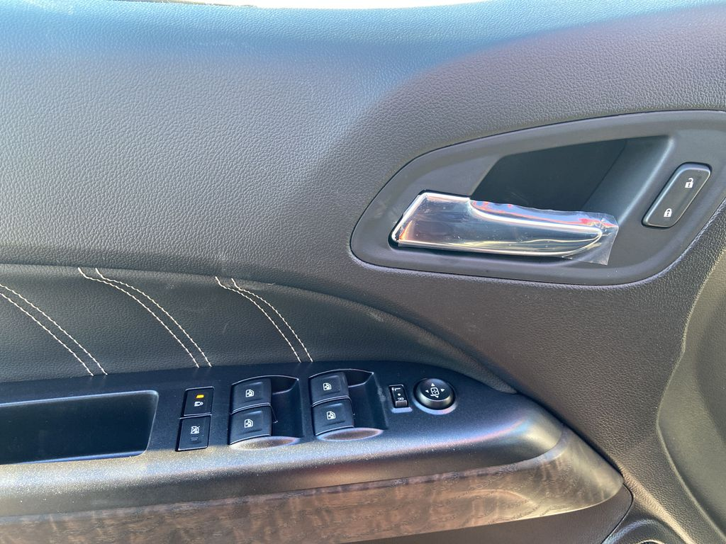 Red[Cayenne Red Tintcoat] 2021 GMC Canyon Denali  Driver's Side Door Controls Photo in Calgary AB