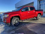 Red[Cayenne Red Tintcoat] 2021 GMC Canyon Denali Left Front Corner Photo in Calgary AB