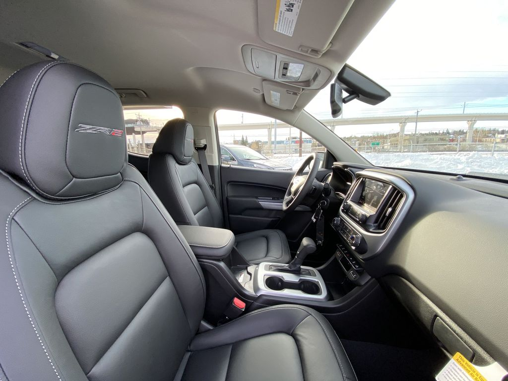 Black[Black] 2021 Chevrolet Colorado ZR2 Right Side Front Seat  Photo in Calgary AB