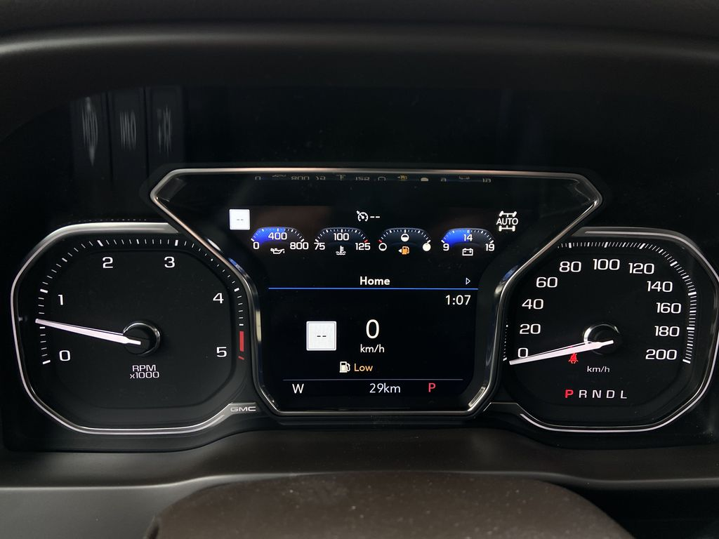 White[White Frost Tricoat] 2021 GMC Sierra 3500HD Denali Odometer Photo in Calgary AB