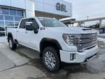White[White Frost Tricoat] 2021 GMC Sierra 3500HD Denali Right Front Corner Photo in Calgary AB