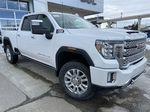 White[White Frost Tricoat] 2021 GMC Sierra 3500HD Denali Primary Listing Photo in Calgary AB