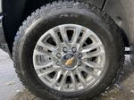 Black[Black] 2021 Chevrolet Silverado 3500HD High Country Left Front Rim and Tire Photo in Calgary AB