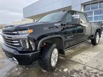 Black[Black] 2021 Chevrolet Silverado 3500HD High Country Left Front Head Light / Bumper and Grill in Calgary AB