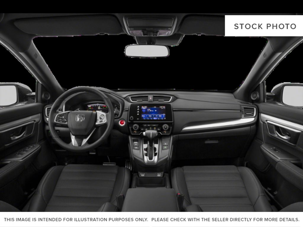 RED R-569M 2021 Honda CR-V Front Seats and Dash Photo in Kelowna BC