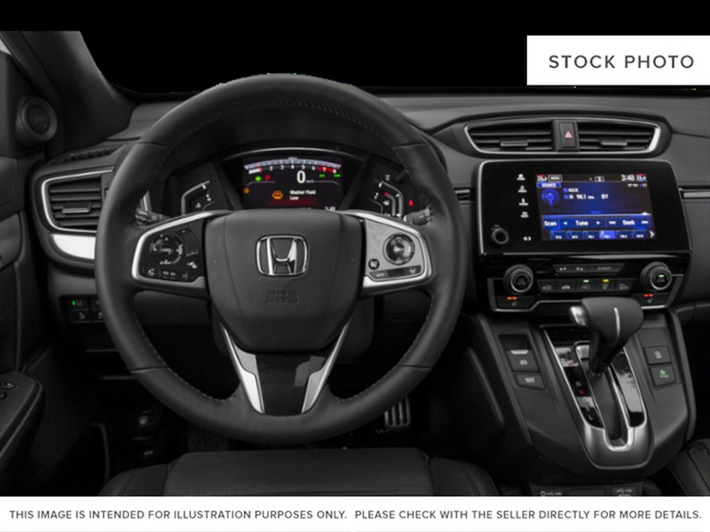 RED R-569M 2021 Honda CR-V Steering Wheel/Instruments Photo in Kelowna BC