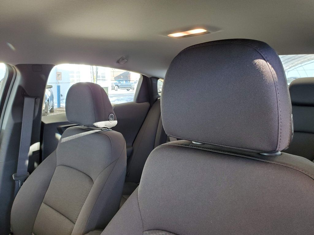 Grey 2021 Chevrolet Malibu Driver's Side Door Controls Photo in Airdrie AB
