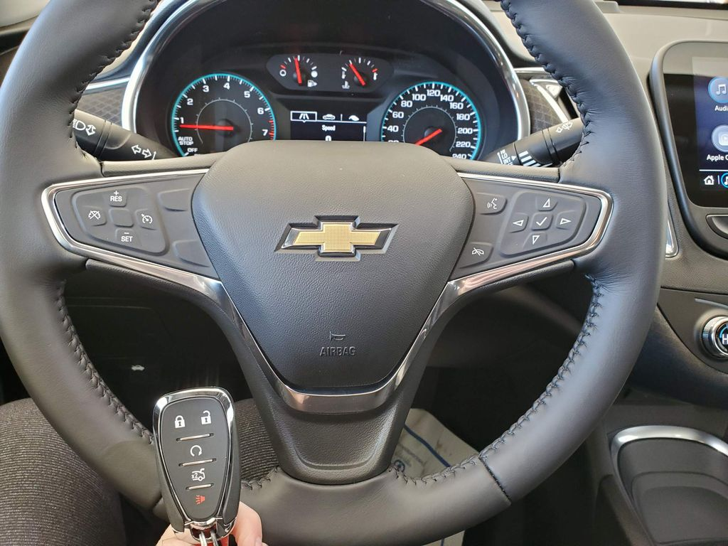 Grey 2021 Chevrolet Malibu Front Vehicle Photo in Airdrie AB