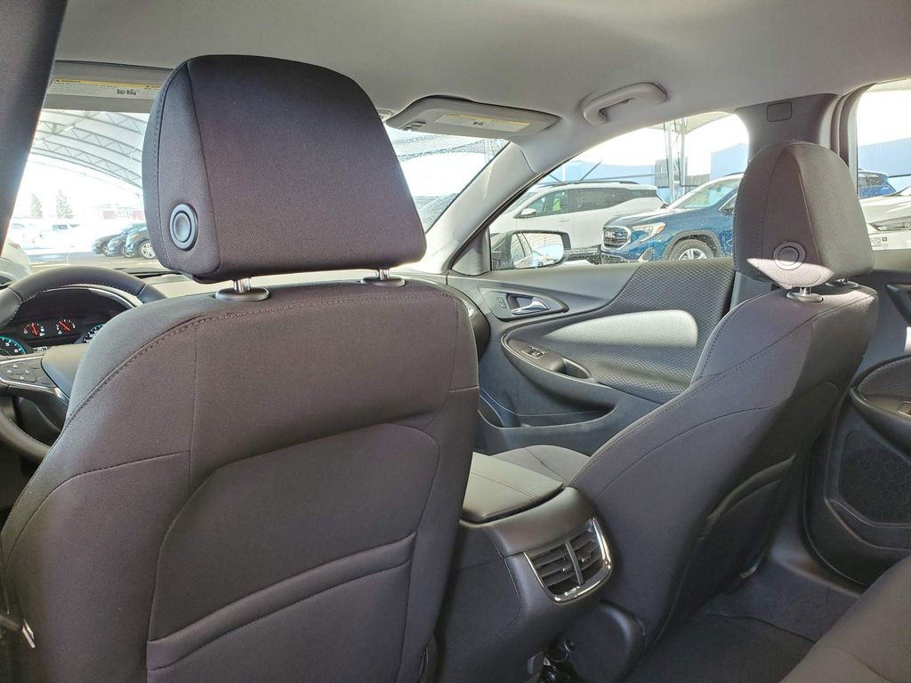 Grey 2021 Chevrolet Malibu Central Dash Options Photo in Airdrie AB