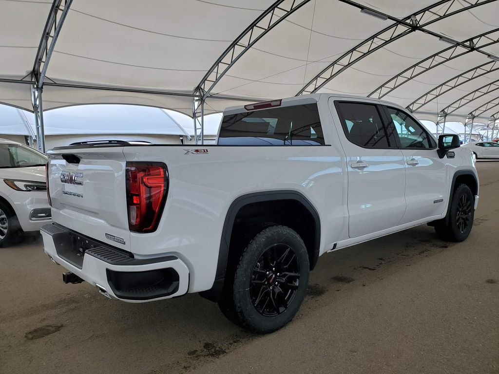 White 2021 GMC Sierra 1500 Rear of Vehicle Photo in Airdrie AB