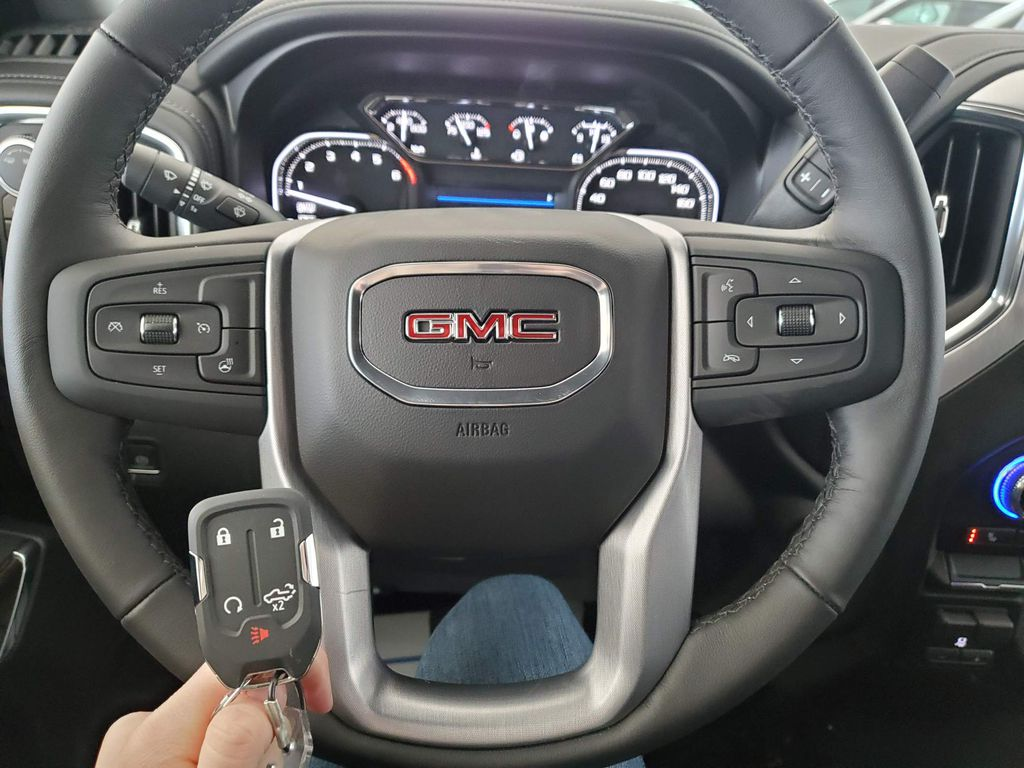 White 2021 GMC Sierra 1500 Front Vehicle Photo in Airdrie AB