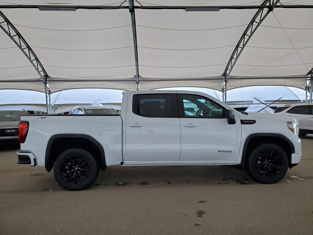 White 2021 GMC Sierra 1500 Trunk / Cargo Area Photo in Airdrie AB