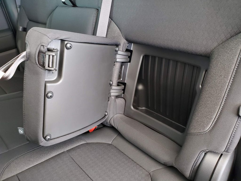 White 2021 GMC Sierra 1500 Center Console Photo in Airdrie AB