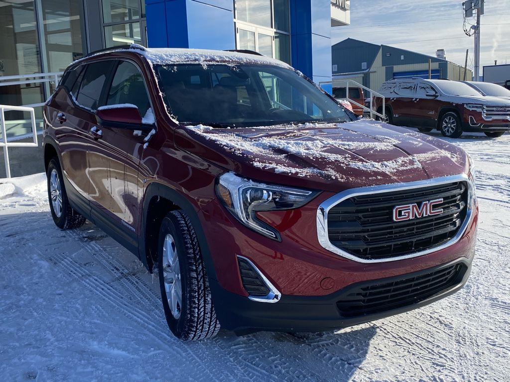 Red 2021 GMC Terrain Left Front Head Light / Bumper and Grill in Barrhead AB