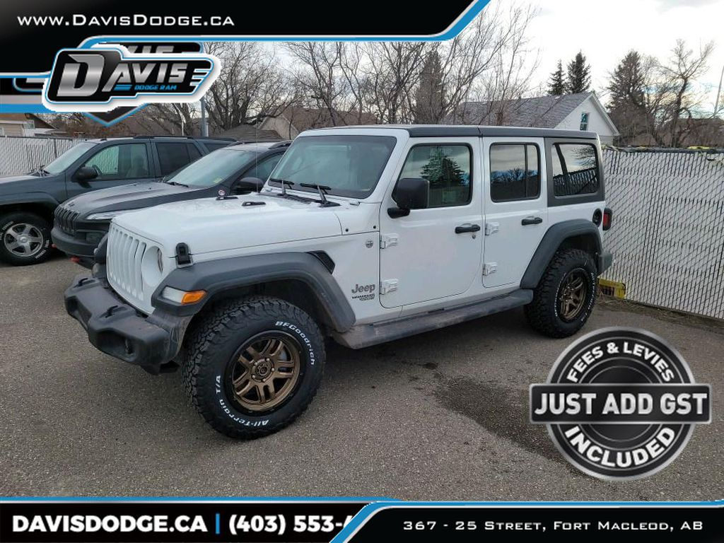 White 2018 Jeep Wrangler Unlimited