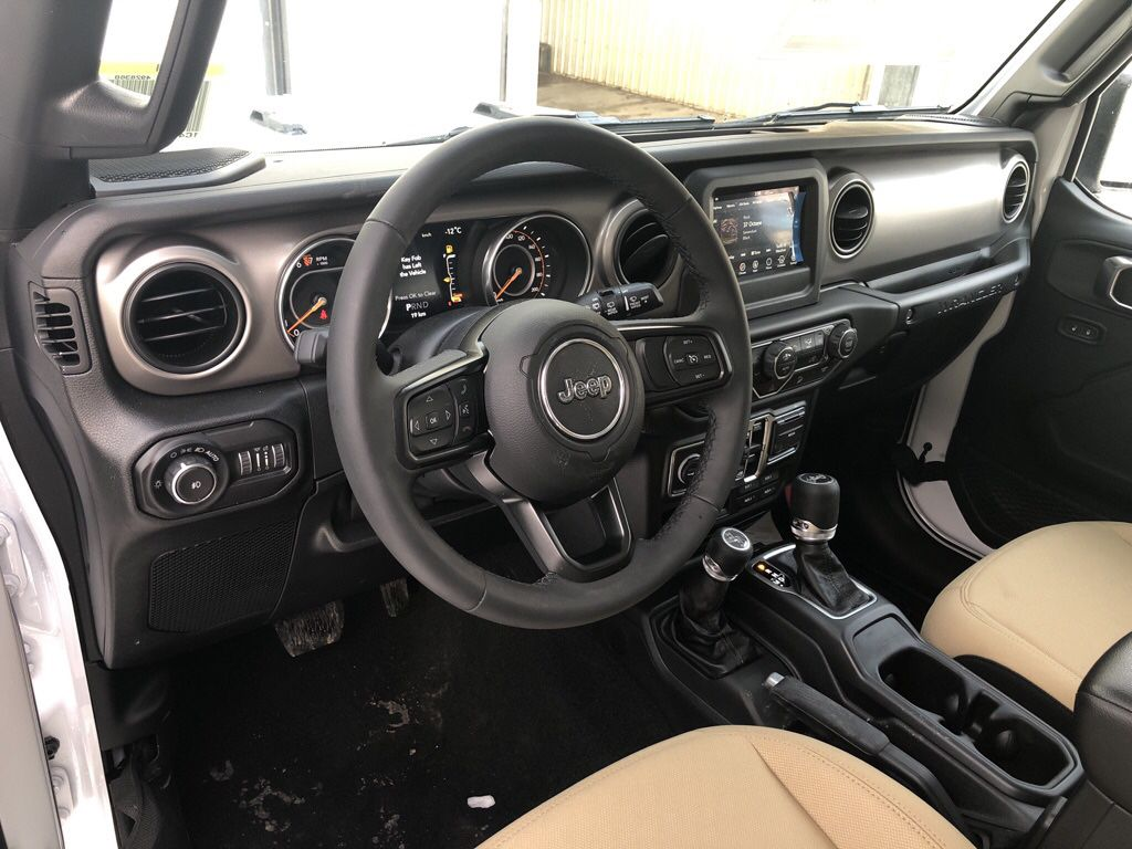White 2018 Jeep Wrangler Unlimited Left Side Photo in Fort Macleod AB