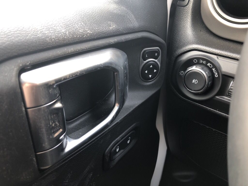 White 2018 Jeep Wrangler Unlimited Left Rear Interior Door Panel Photo in Fort Macleod AB
