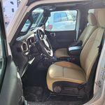 White 2018 Jeep Wrangler Unlimited Left Front Interior Door Panel Photo in Fort Macleod AB