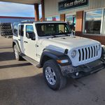 White 2018 Jeep Wrangler Unlimited Left Front Corner Photo in Fort Macleod AB