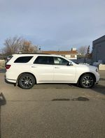 White 2020 Dodge Durango Left Front Rim and Tire Photo in Fort Macleod AB