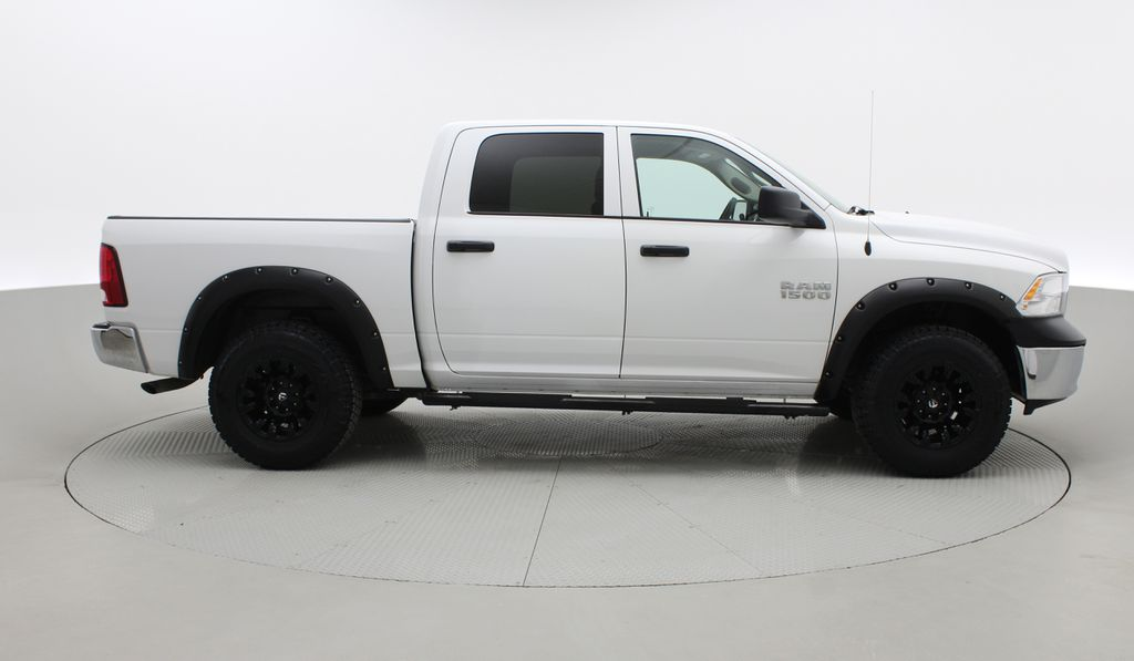 White[Bright White] Lifted 2017 Ram 1500 SXT 4WD - HEMI, Crew Cab, Fuel Rims / Nitto Tires Right Side Photo in Winnipeg MB