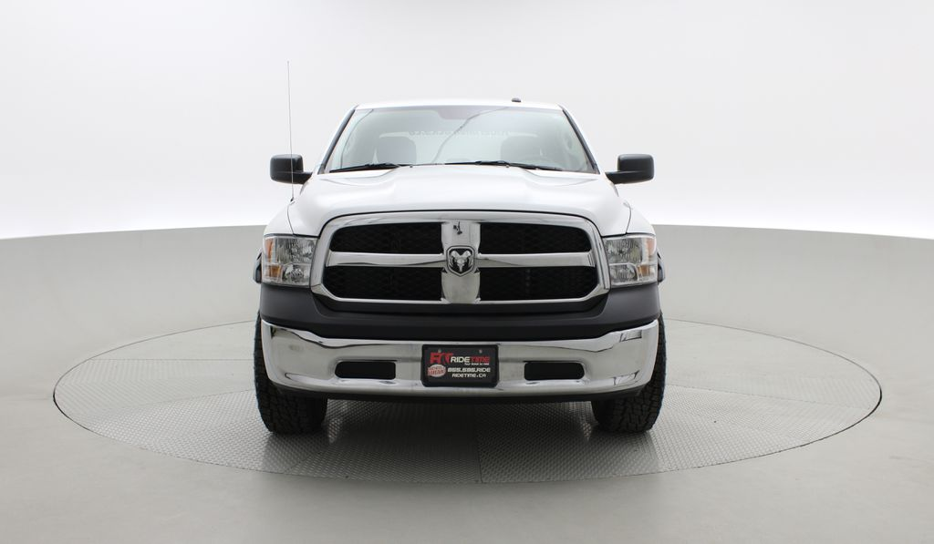 White[Bright White] Lifted 2017 Ram 1500 SXT 4WD - HEMI, Crew Cab, Fuel Rims / Nitto Tires Front Vehicle Photo in Winnipeg MB