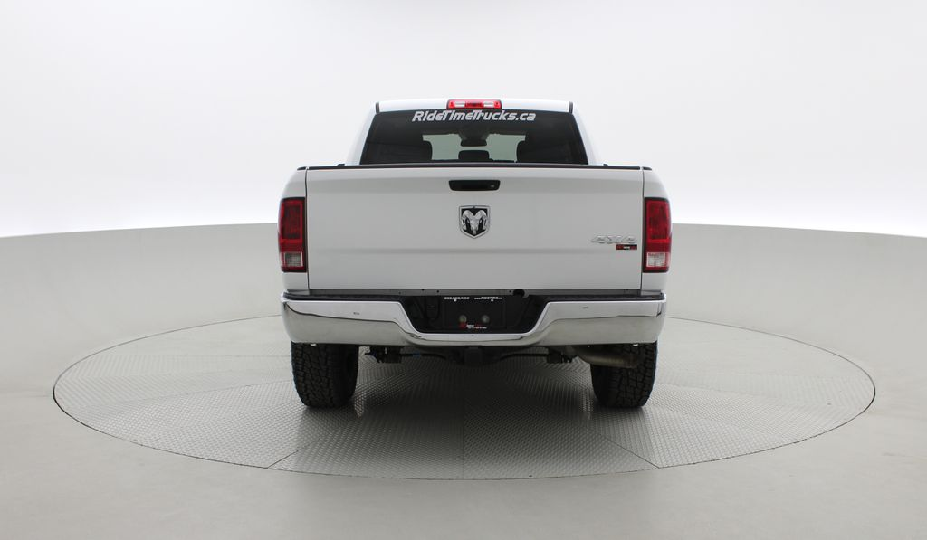 White[Bright White] Lifted 2017 Ram 1500 SXT 4WD - HEMI, Crew Cab, Fuel Rims / Nitto Tires Rear of Vehicle Photo in Winnipeg MB