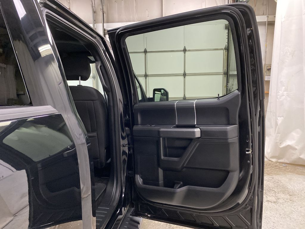 Black[Shadow Black] 2018 Ford F-150 Right Rear Interior Door Panel Photo in Dartmouth NS