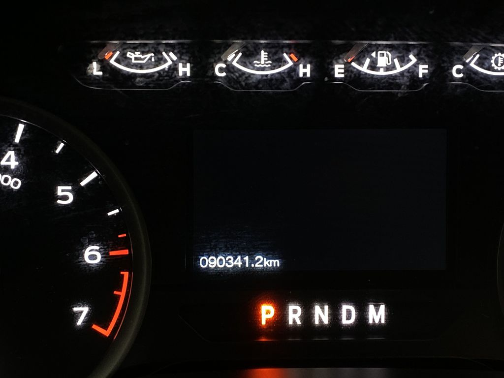 Black[Shadow Black] 2018 Ford F-150 Odometer Photo in Dartmouth NS
