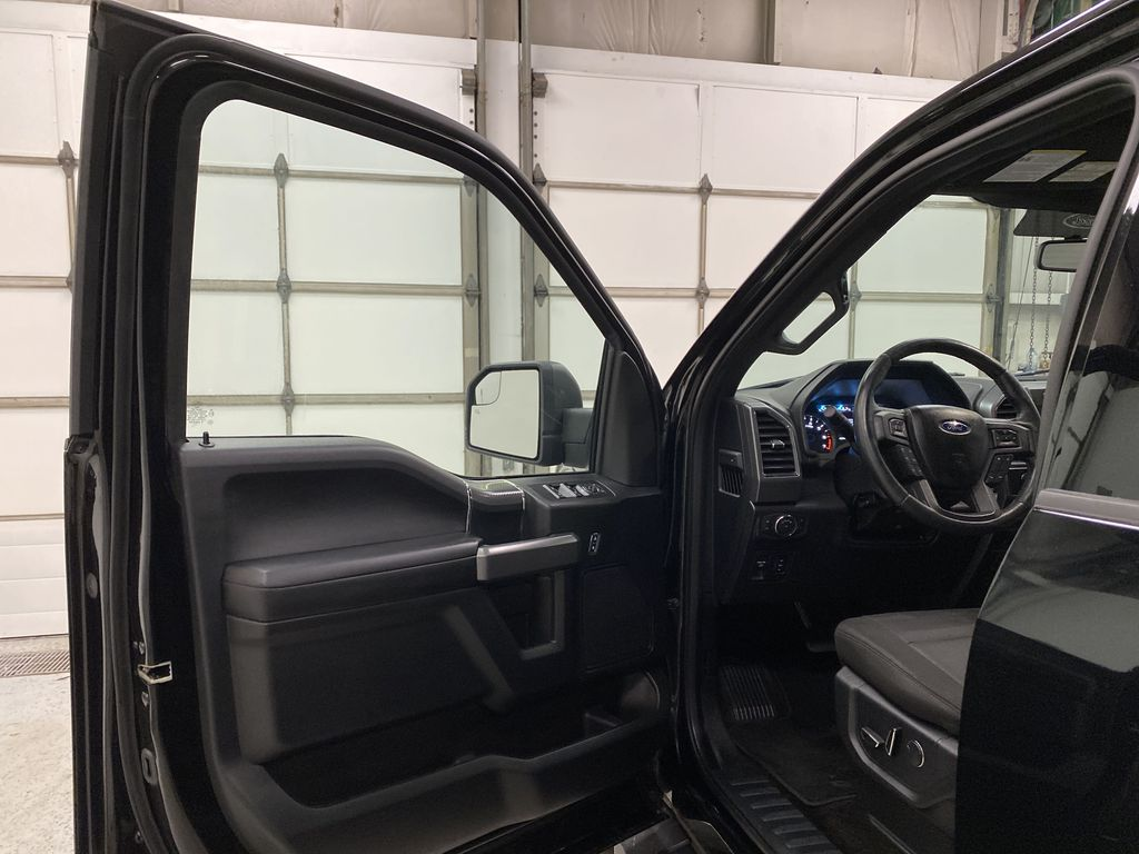 Black[Shadow Black] 2018 Ford F-150 Left Front Interior Door Panel Photo in Dartmouth NS