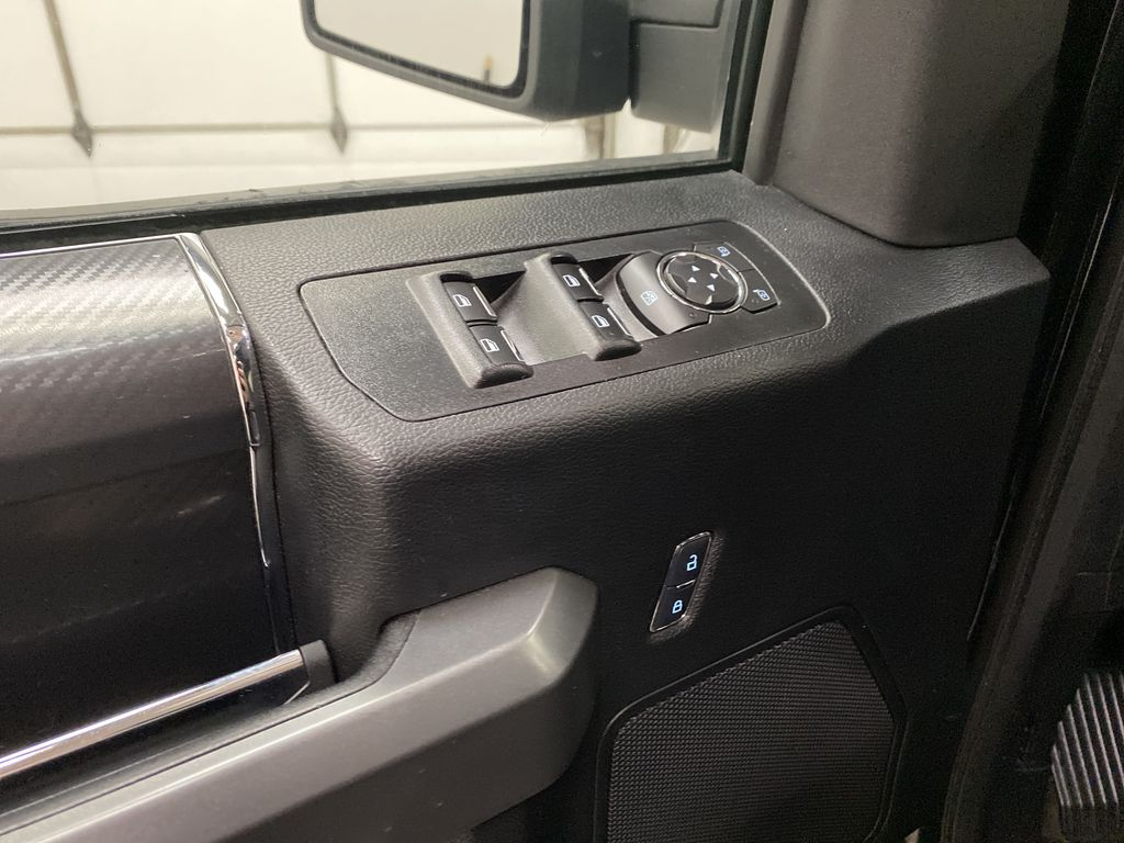 Black[Shadow Black] 2018 Ford F-150  Driver's Side Door Controls Photo in Dartmouth NS