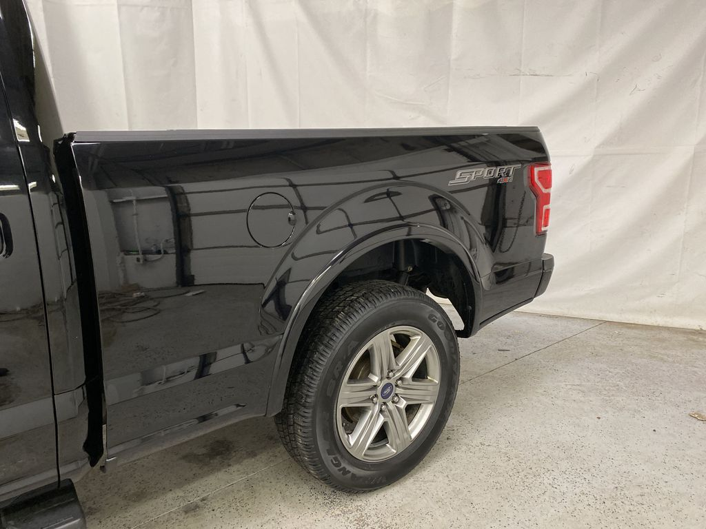 Black[Shadow Black] 2018 Ford F-150 Left Rear Corner Photo in Dartmouth NS