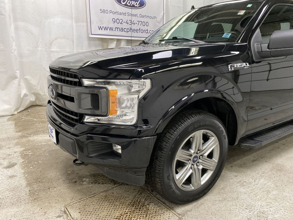 Black[Shadow Black] 2018 Ford F-150 Left Front Corner Photo in Dartmouth NS