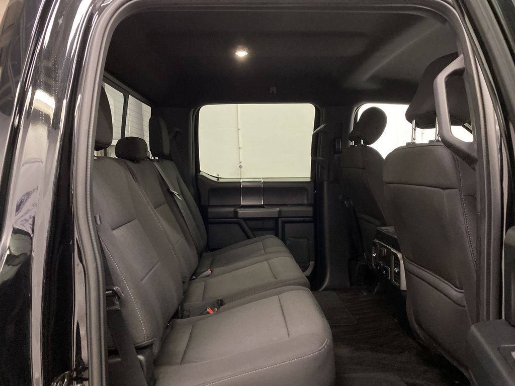 Black[Shadow Black] 2018 Ford F-150 Right Side Rear Seat  Photo in Dartmouth NS