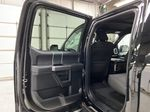 Black[Shadow Black] 2018 Ford F-150 Left Rear Interior Door Panel Photo in Dartmouth NS