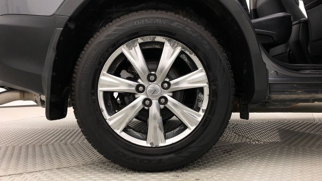 Gray[Magnetic Grey Metallic] 2014 Toyota RAV4 Limited AWD - Leather, Navigation, Backup Cam Right Rear Rim and Tire Photo in Winnipeg MB