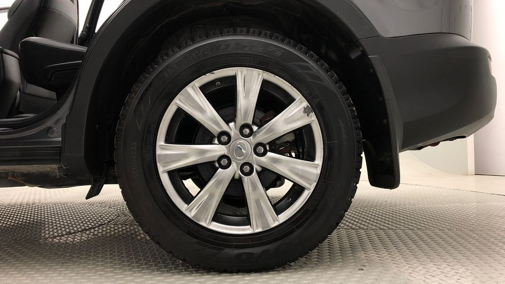 Gray[Magnetic Grey Metallic] 2014 Toyota RAV4 Limited AWD - Leather, Navigation, Backup Cam Left Rear Rim and Tire Photo in Winnipeg MB