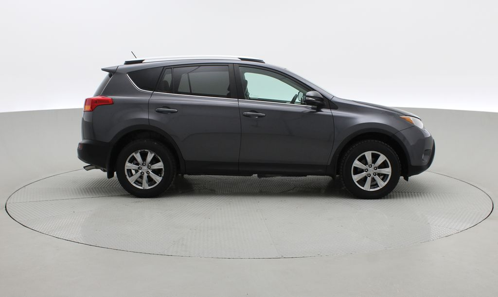 Gray[Magnetic Grey Metallic] 2014 Toyota RAV4 Limited AWD - Leather, Navigation, Backup Cam Right Side Photo in Winnipeg MB