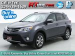 Gray[Magnetic Grey Metallic] 2014 Toyota RAV4 Limited AWD - Leather, Navigation, Backup Cam Primary Listing Photo in Winnipeg MB