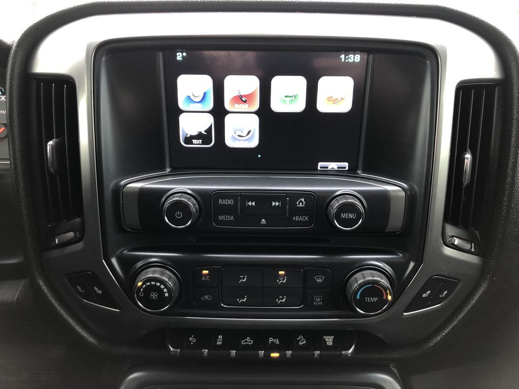 Black[Black] 2016 Chevrolet Silverado 2500HD Central Dash Options Photo in Edmonton AB
