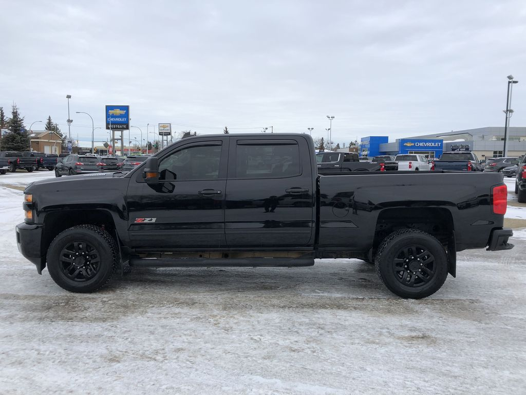 Black[Black] 2016 Chevrolet Silverado 2500HD Left Side Photo in Edmonton AB